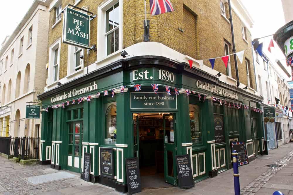Goddards at Greenwich restaurant London